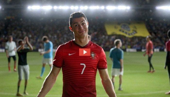 Chi vince rimane: Ronaldo, Neymar, Ibrahimovic (e pure Hulk) nello spot Nike COMPLETO